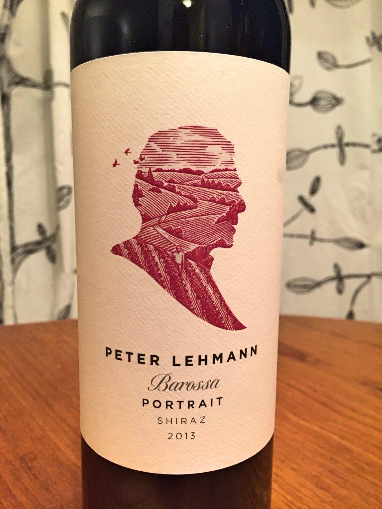 Peter Lehmann Portrait Shiraz 2013 label